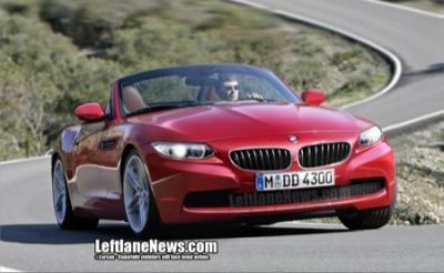 Recreación de la nueva generación del BMW Z4 2010