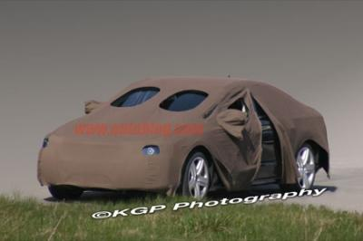 Audi A7,foto espía