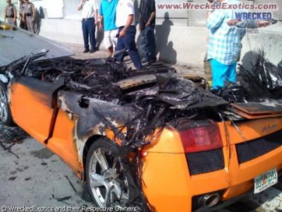 Lamborghini Gallardo,recién tostado