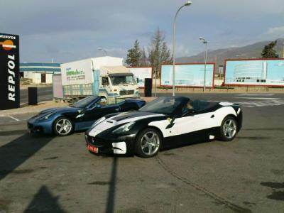 Posibles Ferrari California GT SWB,cazados en España