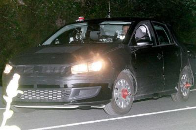 Foto espía del nuevo VW Polo 2009