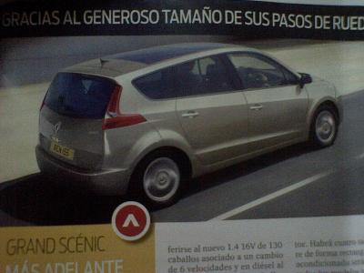 Renault Grand Scénic 2009,posible filtración