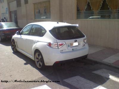 Subaru Impreza WRX STi,hallázgo inusual en Andorra