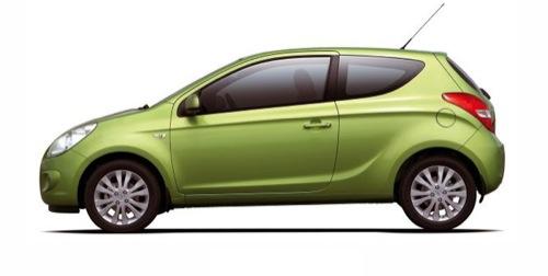 Hyundai i20 de tres puertas