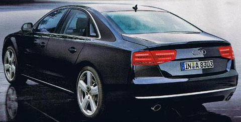 Audi A8 leaked
