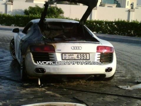 Audi R8 tostado