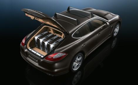 El maletero del Porsche Panamera