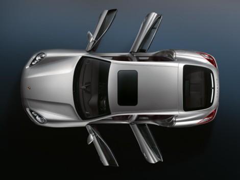 Porsche Panamera, el coupé de cuatro puertas de Porsche